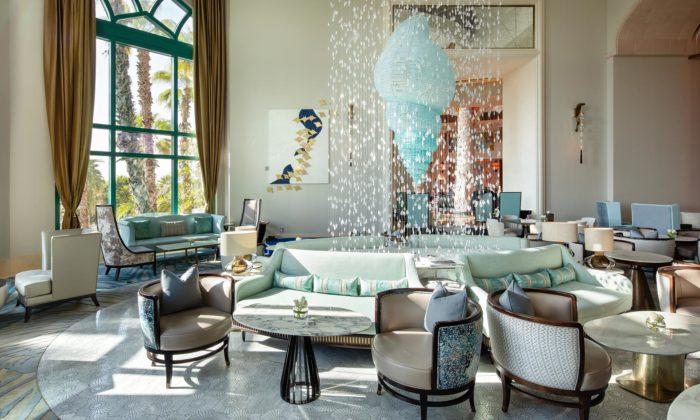 Česká značka Preciosa vytvořila křišťálové instalace pro dubajský hotel Atlantis