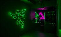 Specializovaný hráčský obchod Razer v Londýně