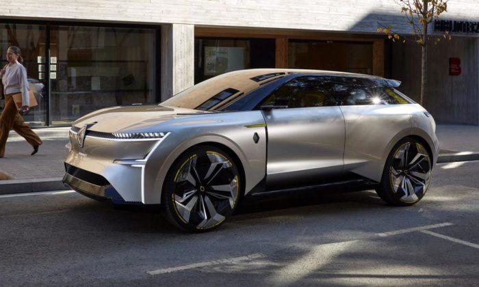 Renault představil elektrický koncept Morphoz smodulární karoserií