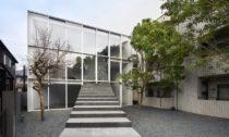Stairway House vTokiu odstudia Nendo