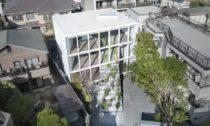 Stairway House v Tokiu od studia Nendo