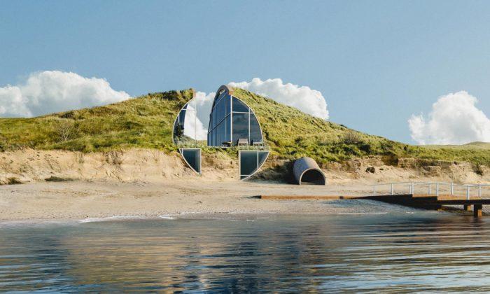 Dune House má být ukrytý vpísečné duně namysu Cape Cod