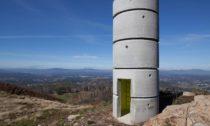 Betonová rozhledna A Torre v Portugalsku