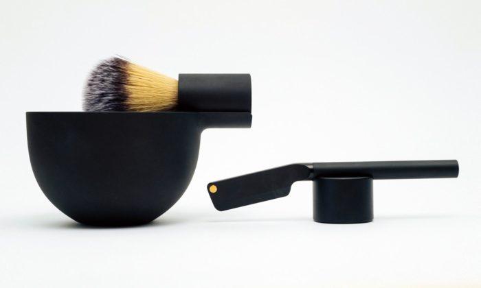Morrama navrhla minimalistickou sadu pro tradiční holení břitvou