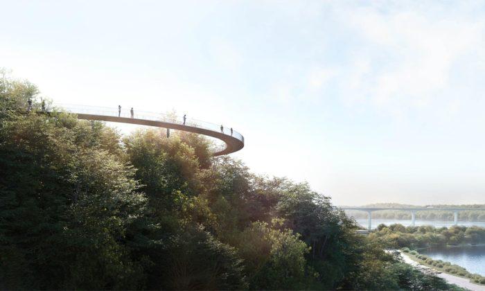 V dánském městě Vejle postaví dvě nové stezky svyhlídkami nafjord