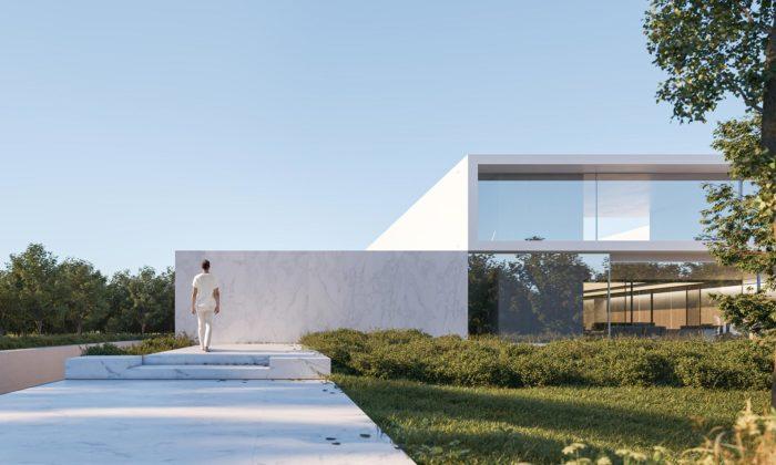 Fran Silvestre Arquitectos navrhli vMadridu minimalistický Compluvium House
