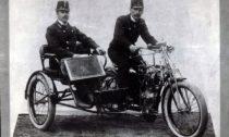 Tříkolka Laurin & Klement z roku 1902