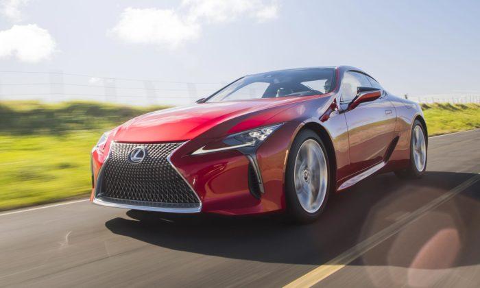 Lexus představil sportovní kupé LC vinovované modelové řadě 2021