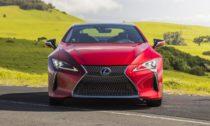 Lexus LC v modelové řadě 2021