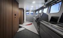 Design interiéru aexteriéru rybářské lodi Shofukumaru odNendo