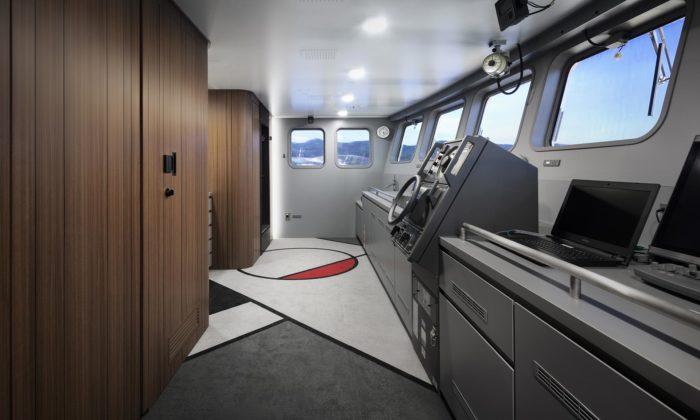 Nendo navrhlo design japonské rybářské lodi pro zmírnění stresu posádky