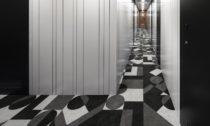 Design interiéru a exteriéru rybářské lodi Shofukumaru od Nendo