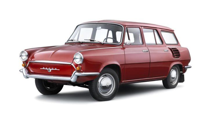 Škoda Auto kvýročí připomíná raritní kombi typ 990 zvaný Hajaja