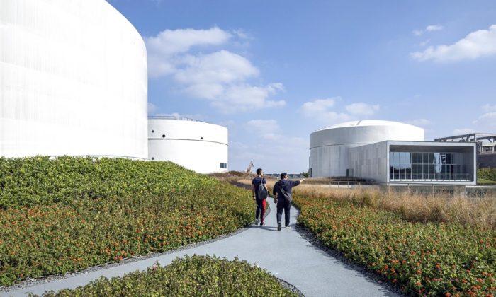 Šanghaj proměnila vysloužilé palivové tanky nacentrum současného umění
