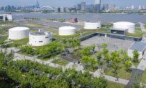 Palivové tanky v Šanghaji přeměněné na centrum umění