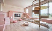 The Pink House na Tchaj-wanu od KC Studio