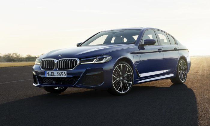 BMW řady 5 dostalo výraznější design vještě sportovnějším duchu