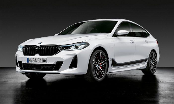 BMW modernizovalo svůj model řady 6 Gran Turismo aukázalo isportovní verzi M