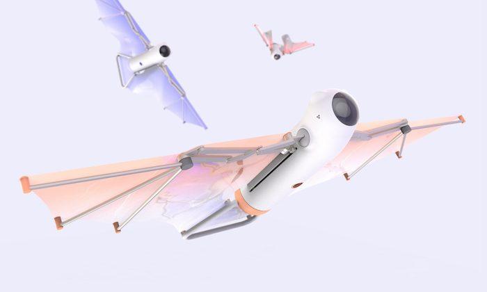 Student UMPRUM navrhl netopýří dron suplující cestování vdobě karantény