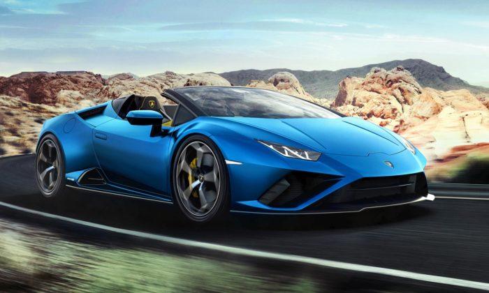 Lamborghini Huracán EVO přichází naléto veverzi Spyder splátěnou střechou