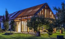 Huť architektury Martin Rajniš apřístavba Jižní Čechy