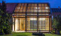 Huť architektury Martin Rajniš a přístavba Jižní Čechy