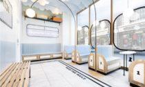 Londýnská zmrzlinárna Milk Train od FormRoom