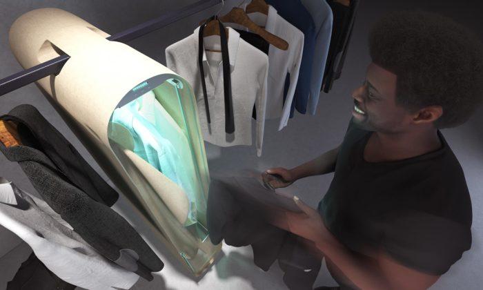 Carlo Ratti navrhl domácí ozonový šatník Pura-Case zbavující oděvy škodlivin