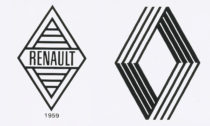 Logo automobilky Renault z roku 1959 a 1972
