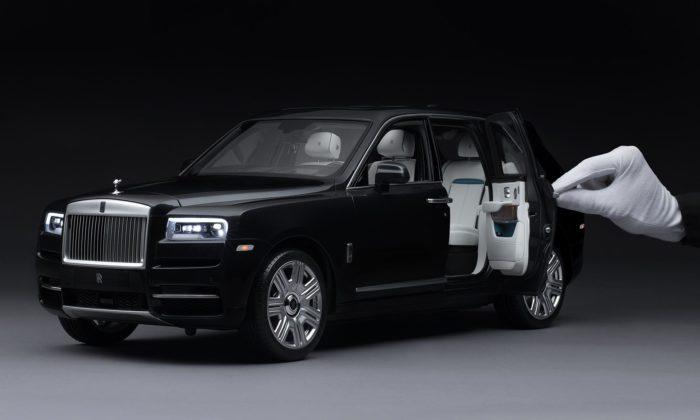 Rolls-Royce vyrobil fanouškům precizně zpracovanou zmenšeninu modelu Cullinan
