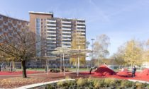 Revitalizace veřejného prostoru v okolí 1. segmentového domu na sídlišti Jižní Svahy ve Zlíně
