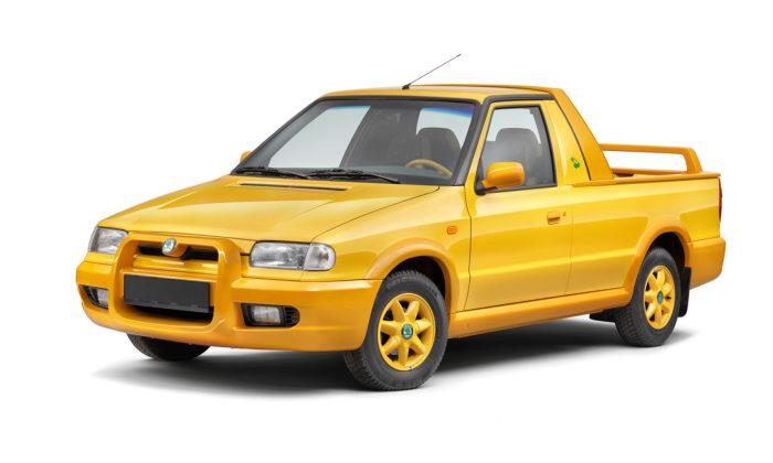 Škoda ke svému výročí připomíná skutečně vyráběný model Felicia Fun