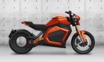 Elektricky poháněná motorka TS odVerge Motorcycles