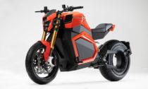 Elektricky poháněná motorka TS od Verge Motorcycles