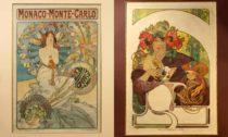 Ukázka z výstavy Alfons Mucha a Pasta Oner: Elusive Fusion