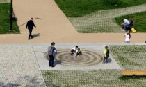 Komenského náměstí na Žižkově