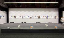 Pohled od expozice výstavy Architektura reciprocity