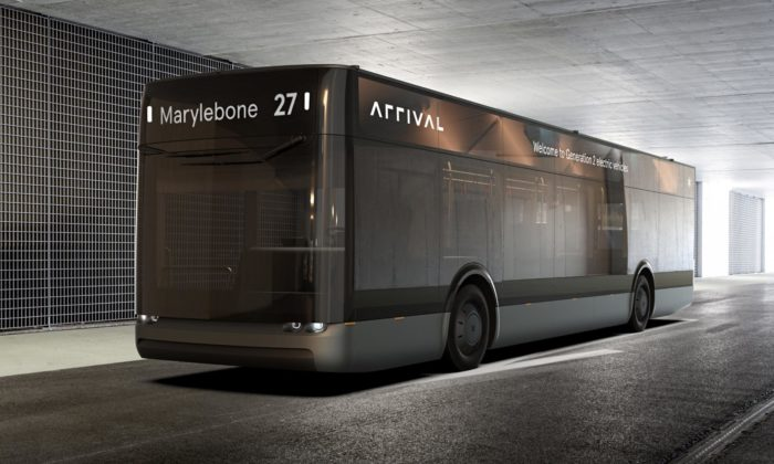 Britská značka Arrival vyvinula stylový elektrický autobus pro hromadnou dopravu