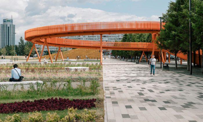 V Rusku proměnili náměstí ze 70.let namultifunkční prostor světové úrovně