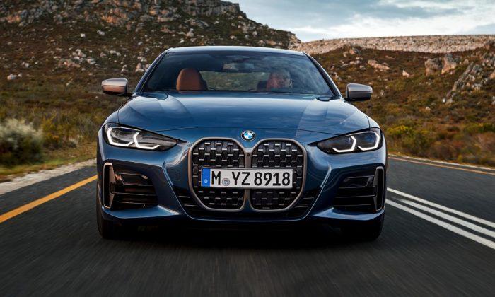 BMW modernizovalo kupé řady 4 adalo mu sportovnější design inovou masku