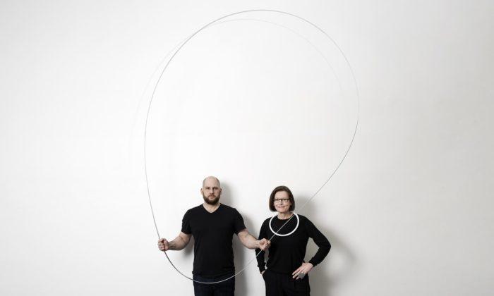 Eva Eisler aPeter Demek vystavují vBrně i17 metrů dlouhý náhrdelník