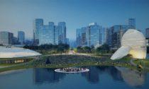 Shenzhen Bay Culture Park od ateliéru MAD