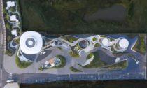 Nanchang Waves v čínském městě Nan-čchang od ateliéru Nordic
