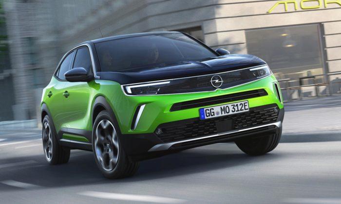 Opel představil elektrický model Mokka asním svůj nový designový jazyk