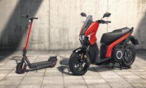 Elektrické motorky akoloběžky značky Seat Mó