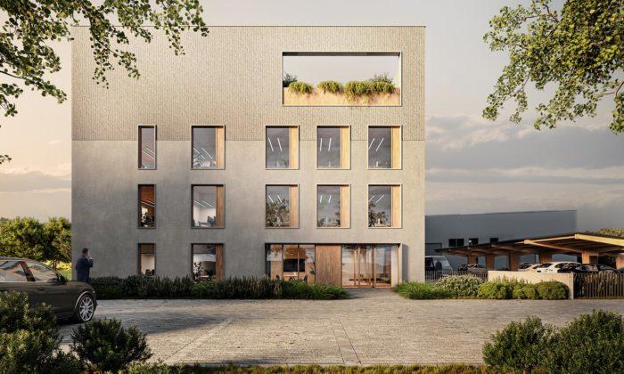 Nejvyšší českou dřevostavbou budou čtyřpatrové kanceláře nedaleko Českých Budějovic