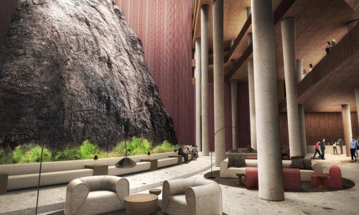 Nedaleko Budapešti dostaví rozestavěný aopuštěný wellness hotel vbývalém kamenolomu