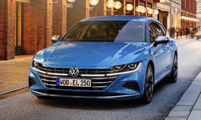 Volkswagen modernizoval svůj vlajkový model Arteon apřidal verzi Shooting Brake