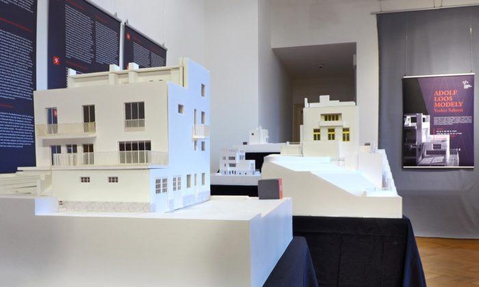 Brno vystavuje vevile Stiassni modely staveb architekta Adolfa Loose
