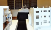 Pohled do expozice výstavy Yoshio Sakurai: Adolf Loos. Modely
